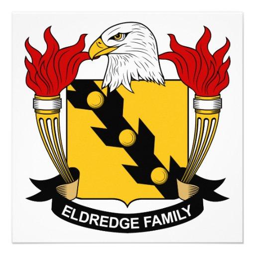 Escudo de la familia de Eldredge Comunicado
