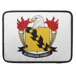 Escudo de la familia de Eldredge Funda Para Macbook Pro