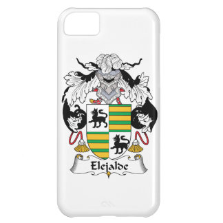 Escudo de la familia de Elejalde Funda Para iPhone 5C