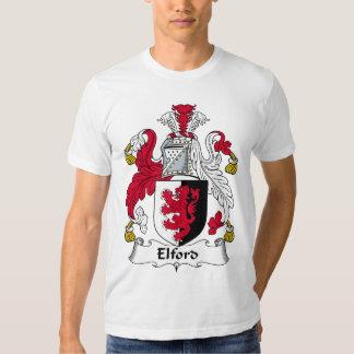 Escudo de la familia de Elford Playeras
