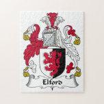 Escudo de la familia de Elford Puzzle Con Fotos