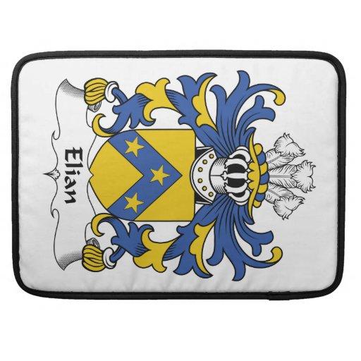 Escudo de la familia de Elian Fundas Macbook Pro