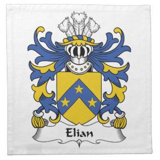 Escudo de la familia de Elian Servilleta De Papel