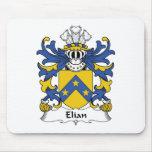 Escudo de la familia de Elian Alfombrillas De Raton