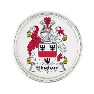 Escudo de la familia de Elingham Insignia