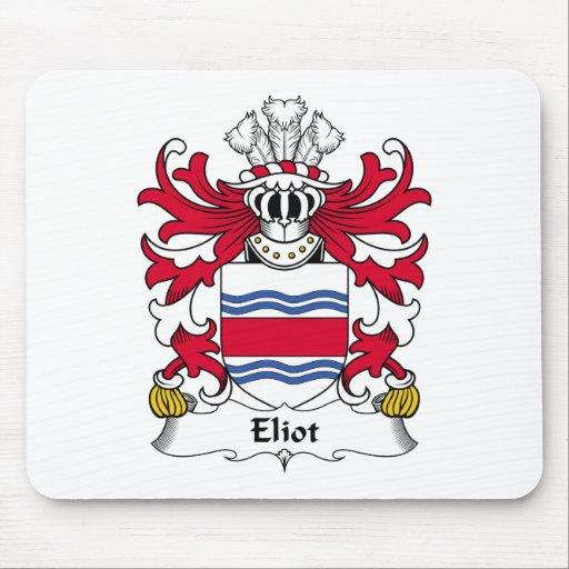 Escudo de la familia de Eliot Alfombrilla De Ratón