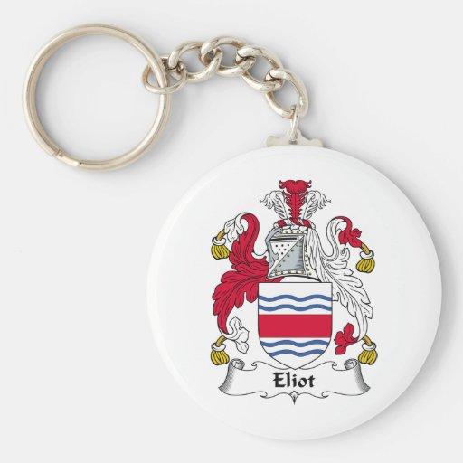 Escudo de la familia de Eliot Llavero Personalizado