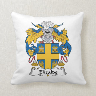 Escudo de la familia de Elizalde Almohadas