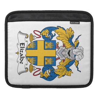 Escudo de la familia de Elizalde Fundas Para iPads