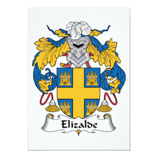 Escudo de la familia de Elizalde Anuncio Personalizado