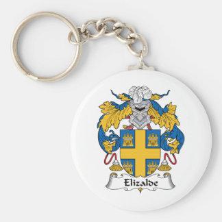 Escudo de la familia de Elizalde Llavero Personalizado