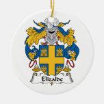 Escudo de la familia de Elizalde Ornato