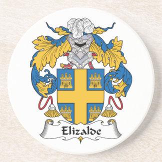 Escudo de la familia de Elizalde Posavasos Cerveza