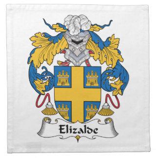 Escudo de la familia de Elizalde Servilleta