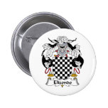 Escudo de la familia de Elizondo Pin