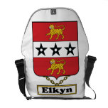 Escudo de la familia de Elkyn Bolsas De Mensajería