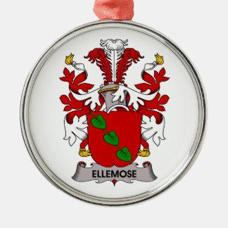 Escudo de la familia de Ellemose Ornamento Para Reyes Magos