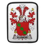Escudo de la familia de Ellemose Funda Para iPads