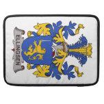 Escudo de la familia de Ellingsen Fundas Para Macbooks