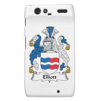 Escudo de la familia de Elliott Droid RAZR Fundas