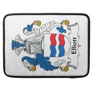 Escudo de la familia de Elliott Funda Para Macbooks
