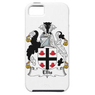 Escudo de la familia de Ellis iPhone 5 Case-Mate Cobertura
