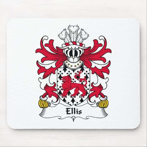Escudo de la familia de Ellis Mousepads