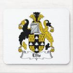 Escudo de la familia de Ellis Tapete De Raton