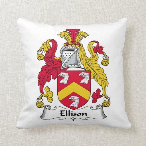 Escudo de la familia de Ellison Almohada