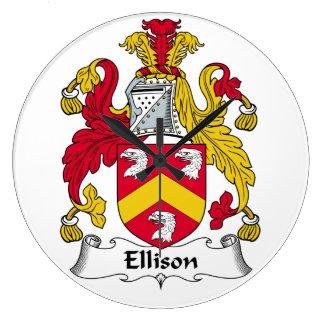 Escudo de la familia de Ellison Relojes