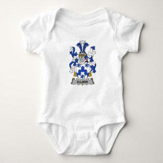 Escudo de la familia de Ellmer Body Para Bebé