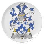 Escudo de la familia de Ellmer Plato