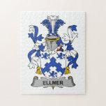 Escudo de la familia de Ellmer Puzzles