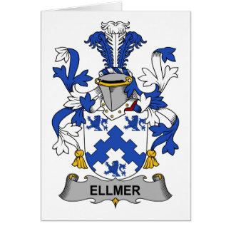 Escudo de la familia de Ellmer Tarjeta De Felicitación