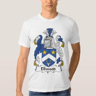 Escudo de la familia de Ellwood Playera