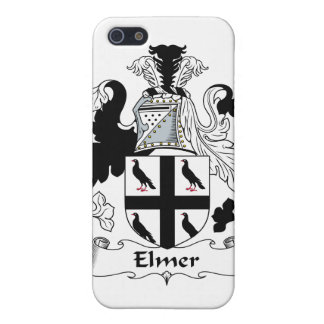 Escudo de la familia de Elmer iPhone 5 Protectores