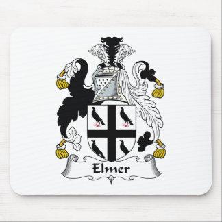 Escudo de la familia de Elmer Alfombrilla De Raton