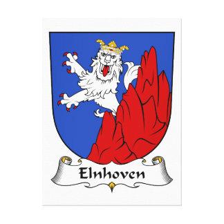 Escudo de la familia de Elnhoven Impresión En Lona Estirada