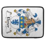 Escudo de la familia de Elsner Funda Para Macbooks