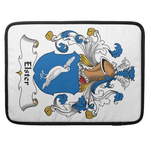 Escudo de la familia de Elster Funda Para Macbook Pro