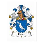 Escudo de la familia de Elster Postal