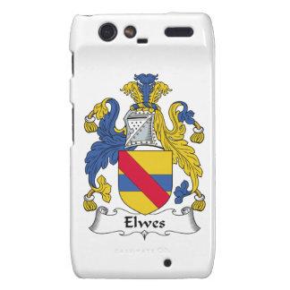 Escudo de la familia de Elwes Droid RAZR Fundas