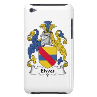 Escudo de la familia de Elwes Barely There iPod Carcasa