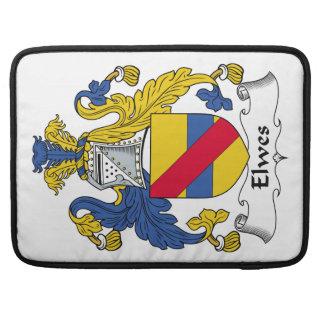 Escudo de la familia de Elwes Fundas Macbook Pro