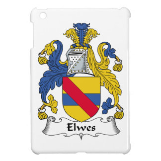 Escudo de la familia de Elwes iPad Mini Cárcasa