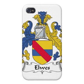 Escudo de la familia de Elwes iPhone 4/4S Funda