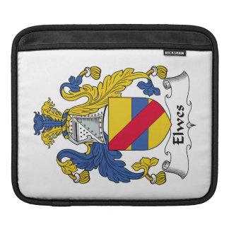 Escudo de la familia de Elwes Mangas De iPad