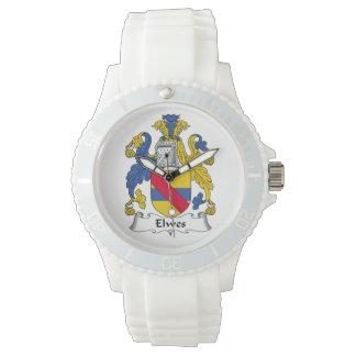 Escudo de la familia de Elwes Reloj