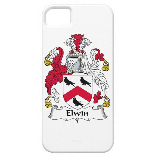 Escudo de la familia de Elwin iPhone 5 Case-Mate Carcasas
