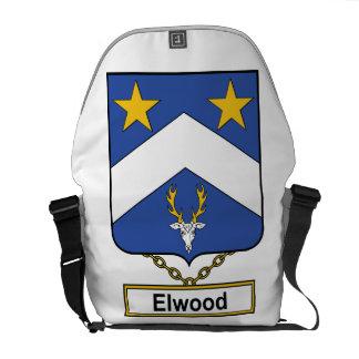 Escudo de la familia de Elwood Bolsa Messenger
